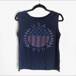 USA graphic tank top LOL Vintage Brand